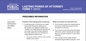 Lasting Power of Attorney & Mental Capacity Assessment
